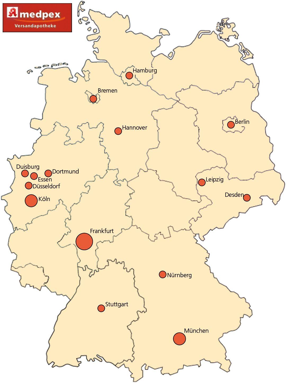 duisburg karte deutschland